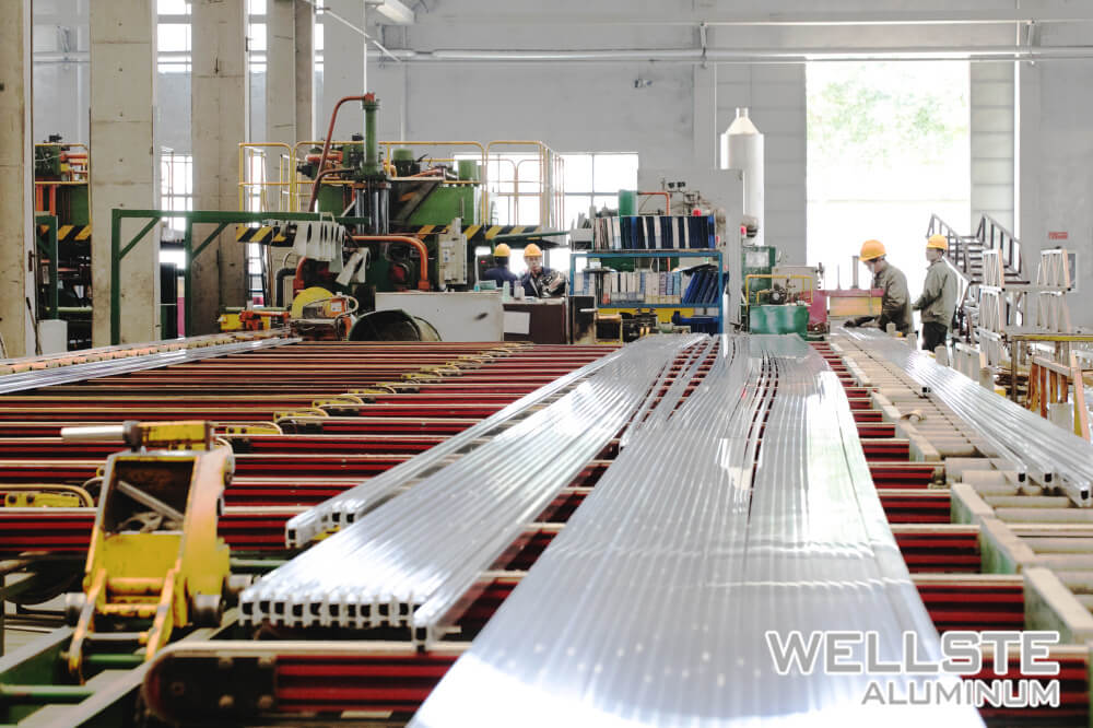 1100T Extrusion line