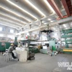 3600T extrusion line operation