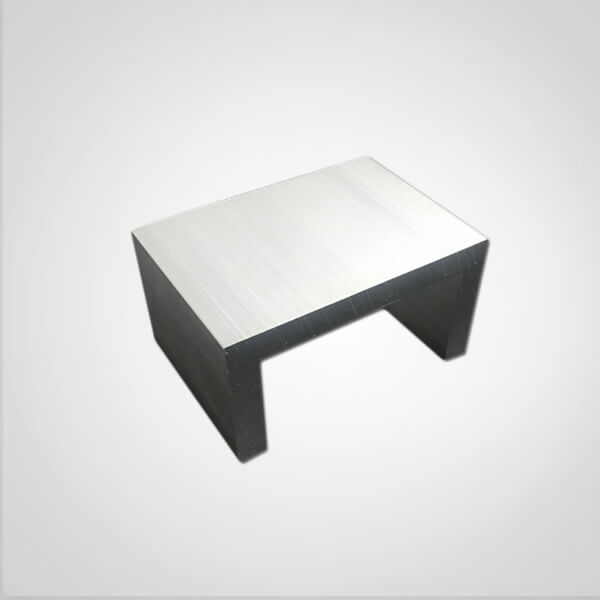 Extruded aluminum channel