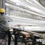 hanging aluminum extrusion profiles