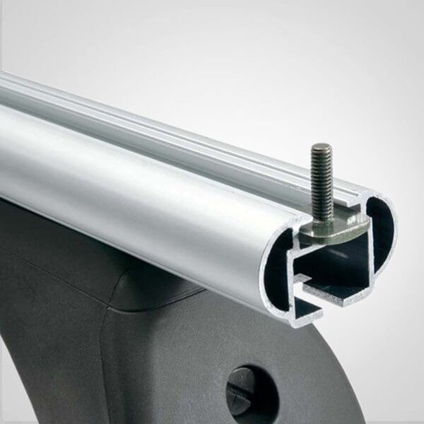 Extruded car roof rack