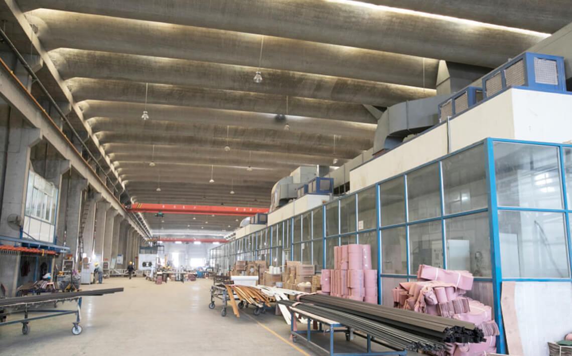 PVDF aluminum extrusion profile-banner