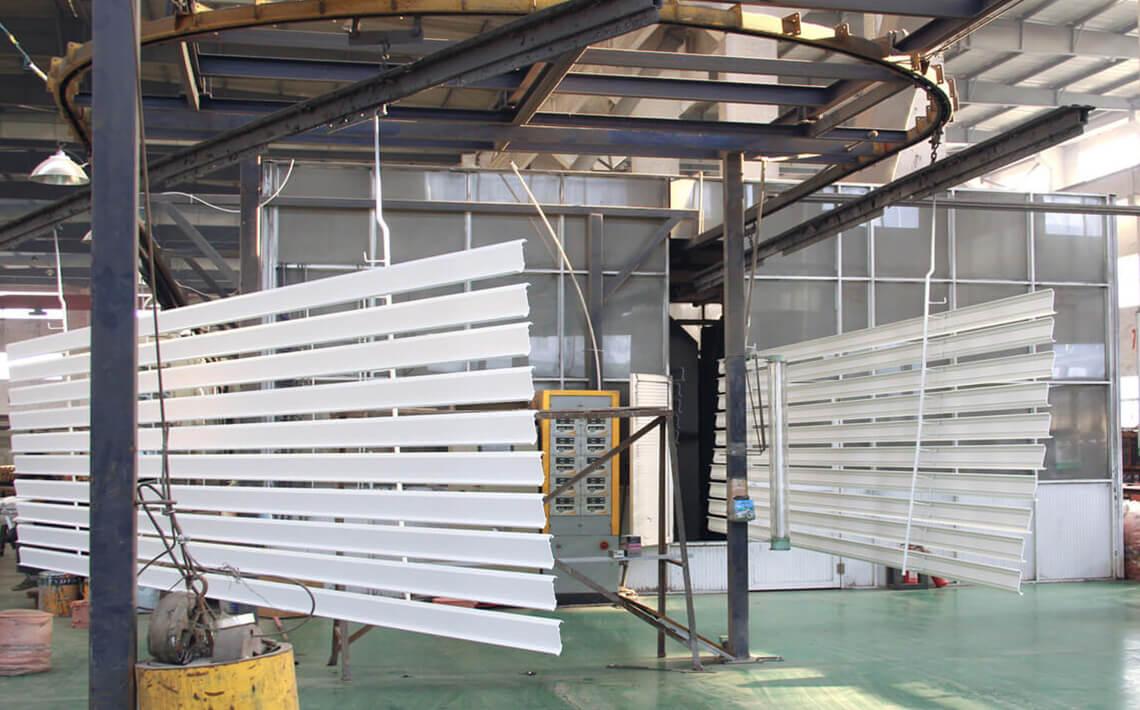 horizontal powder coated aluminum extrusion profile-banner2