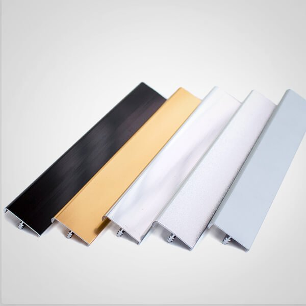 Anodized Extruded Aluminum Trim