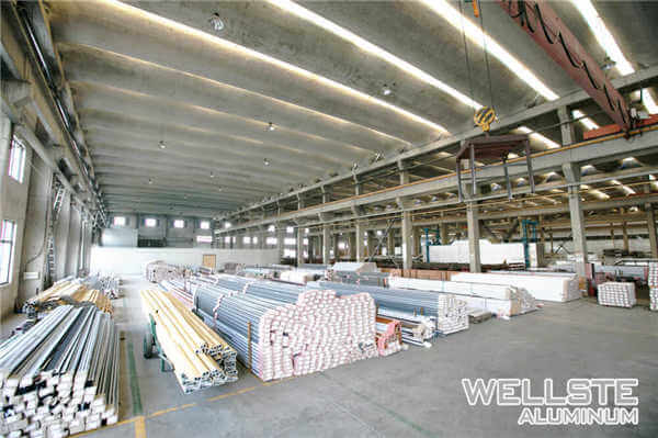 Warehouse Aluminum Extrusion Profile