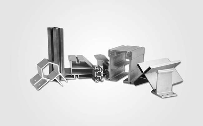 Aluminum extrusions profile