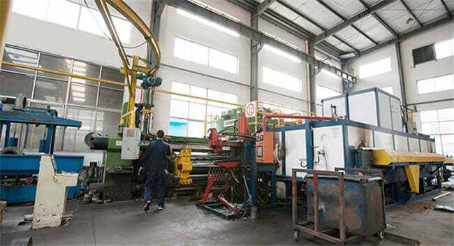 aluminum pipe extrusion machine