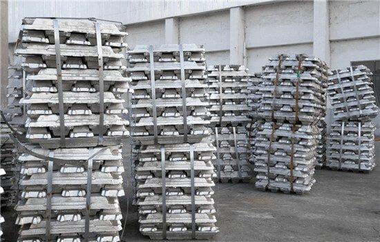Aluminum ingot of alu extrusion