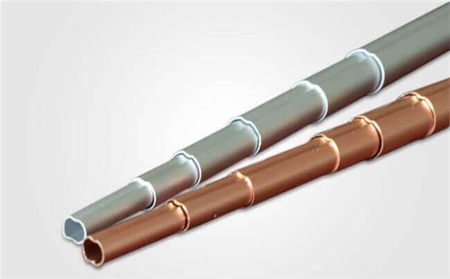 Telescopic aluminum tubing