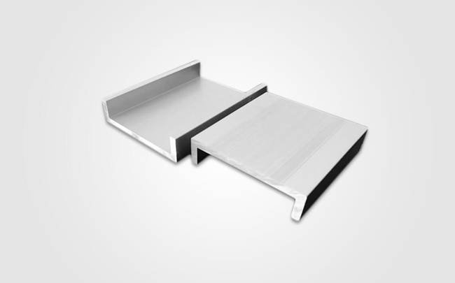extruded aluminum channel profile