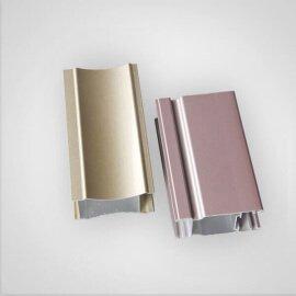 powder coated aluminum profile