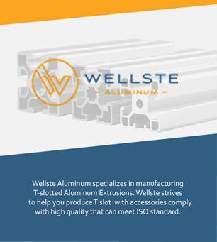 100 Series t slot aluminum extrusion
