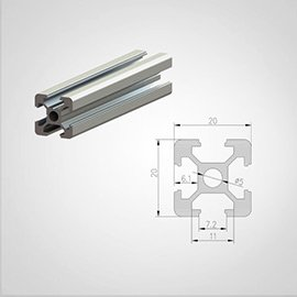 20 series T slot Aluminum Profile