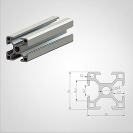 30 series T slot Aluminum Extrusion Profile