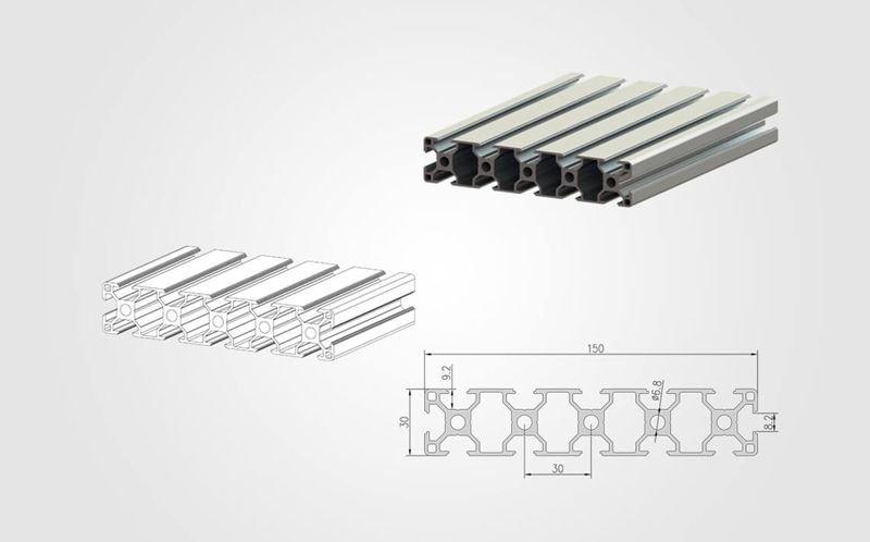 30150 T slot Aluminum Profile - 800