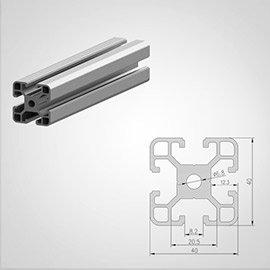 40 series Aluminum T slot Aluminum Extrusion Profile
