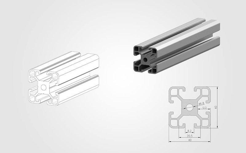 4040 T-slot Aluminum Extrusion Profile