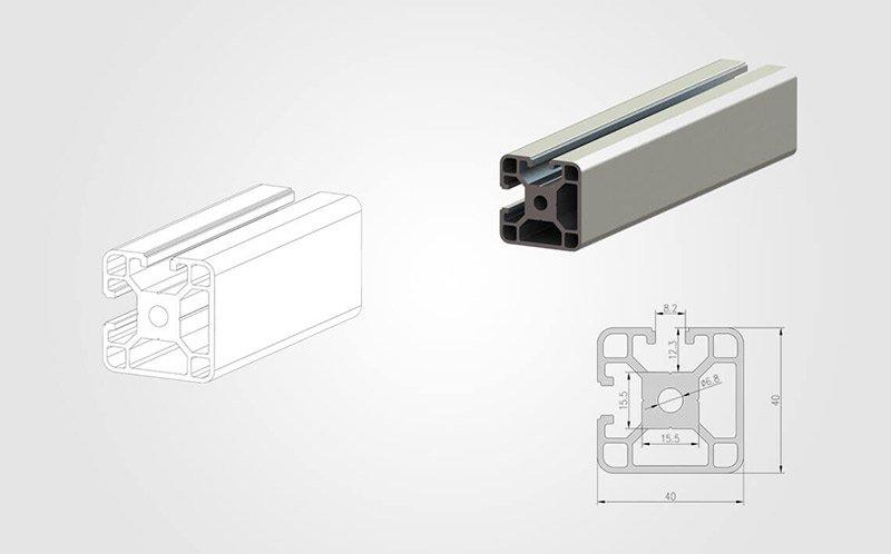 4040 T slot Aluminum Extrusion