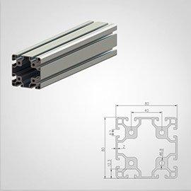 80 series T slot Aluminum Extrusion