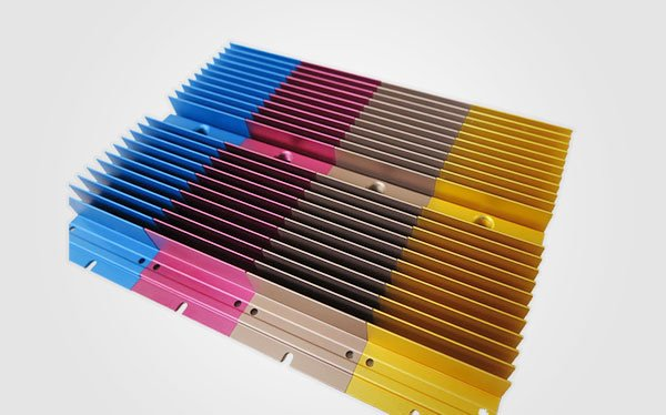 Colorful Anodized Heat sinks