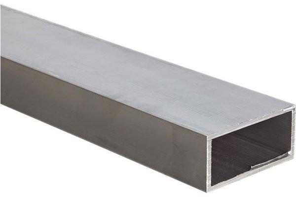 anodized aluminum rectangular tube
