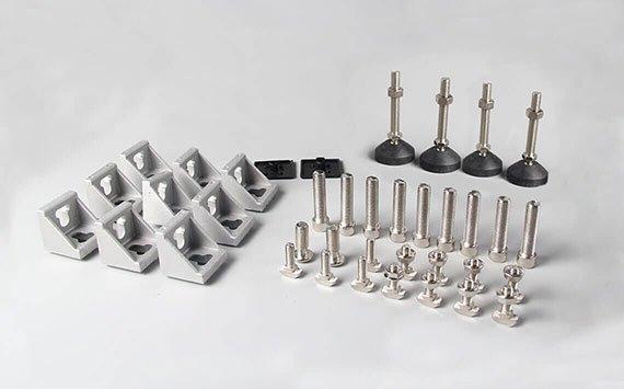 aluminium profile accessories