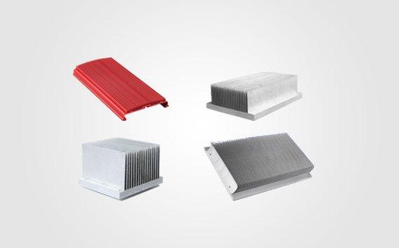 large aluminum heat sinks