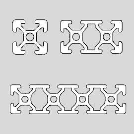 20 series T-slot Profiles
