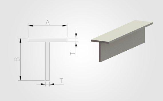 aluminum T extrusion