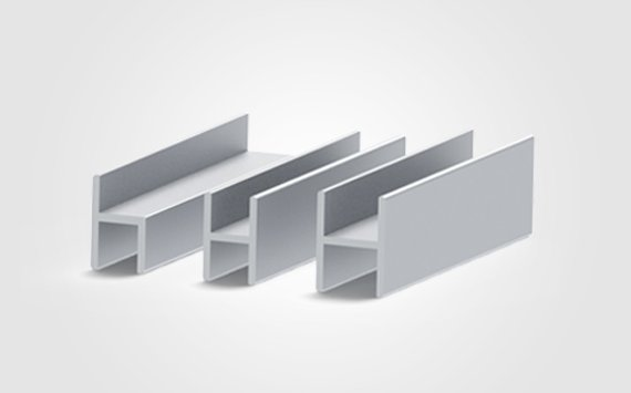 extruded aluminum h channel