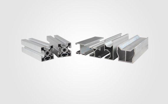 extruded aluminum shape