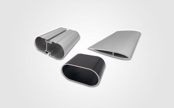 oval aluminium extrusion