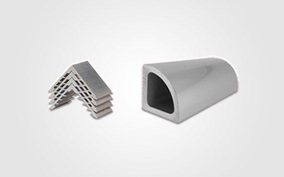 triangular aluminum extrusion