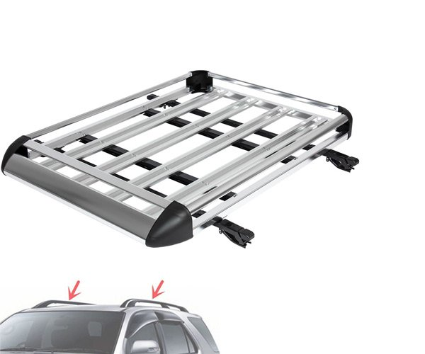 Extruded aluminum roof rack