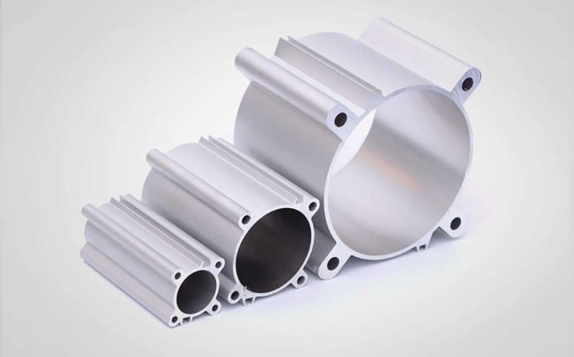 Alumium cylinder tubing