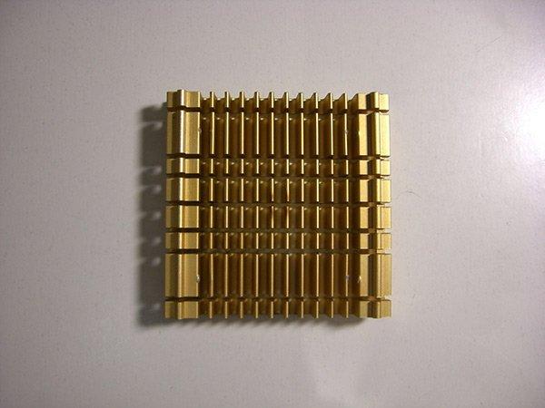 Pentium processor heat sink