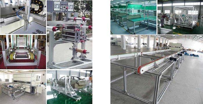 Uses of T slot aluminum profile