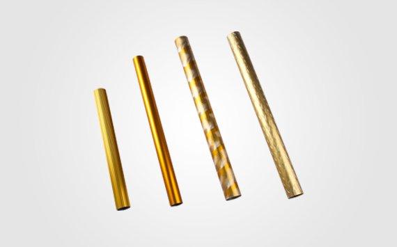 anodised aluminium tube