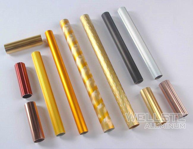 anodized aluminium pipe