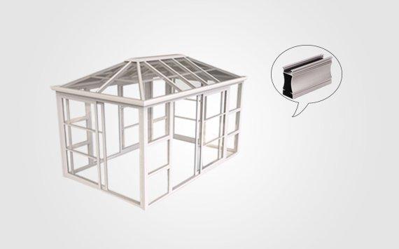 aluminum door frame extrusions