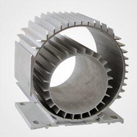 Aluminium Extrusion Motor Body