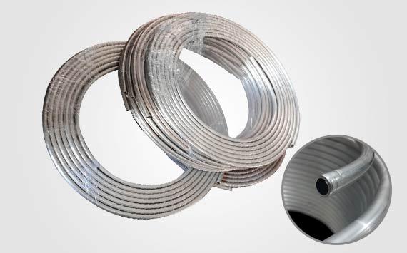 Aluminum tube coil