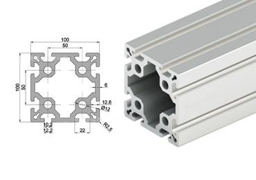 100 series T slot Aluminum Extrusion Profile