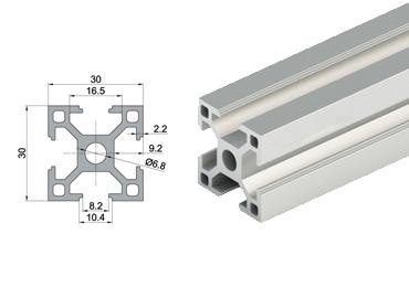 30 series T slot-Aluminum Extrusion Profile