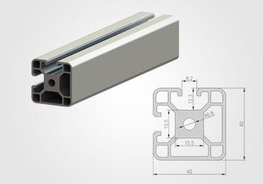 40 Series T Slot Aluminum Extrusion Profile