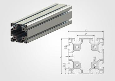 80 Series T Slot Aluminum Extrusion Profile