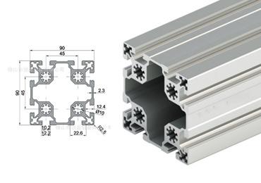 90 series T slot Aluminum Extrusion Profile