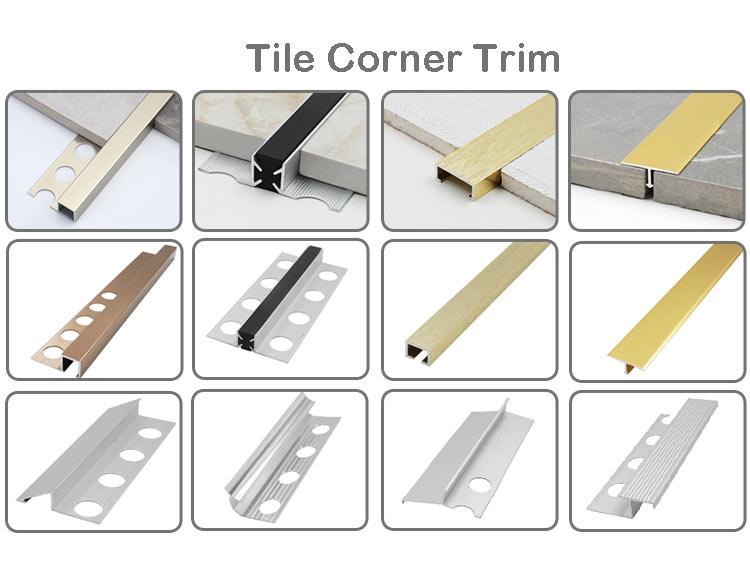 Aluminum Tile Corner Trim