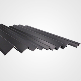 Black Anodized Aluminum Angle Trim