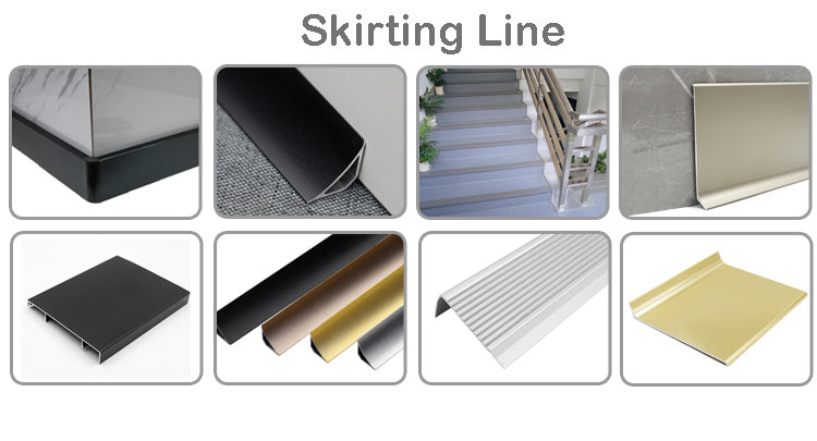 Extruded Aluminum Trim